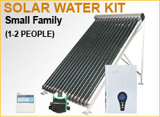 Small Family Solar Water Kit